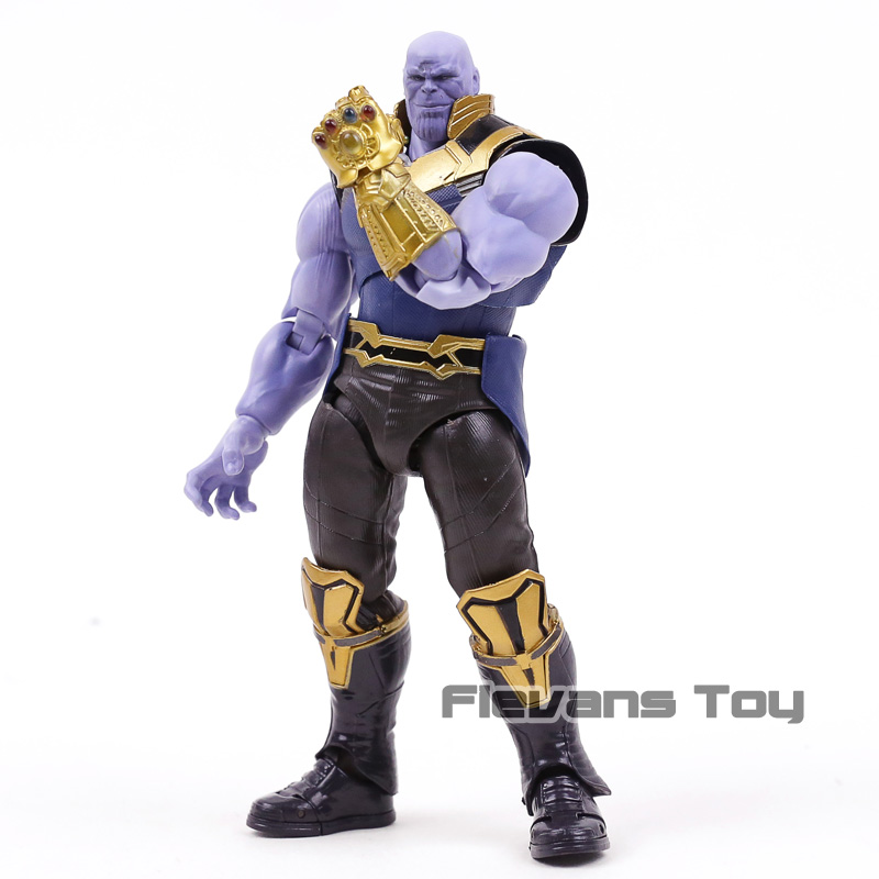 Avengers Infinity War Thanos Action Figure Toys Brinquedos Figurals Collection Model Doll