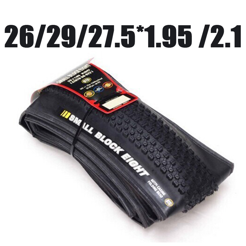 Catazer 29*1.95 29*2.1 27.5*1.95 26*2.1 26*1.95 Folding Mountain Bicycle Tire Bike Tyre Small Block Eight MTB Tire for Racer rockbros titanium ti pedal spindle axle quick release for brompton folding bike bicycle bike parts