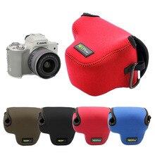 Портативный защитный неопреновый мягкий внутренний чехол для камеры, сумка для Canon EOS M50 EOSM50 с 4 вариантами цветов
