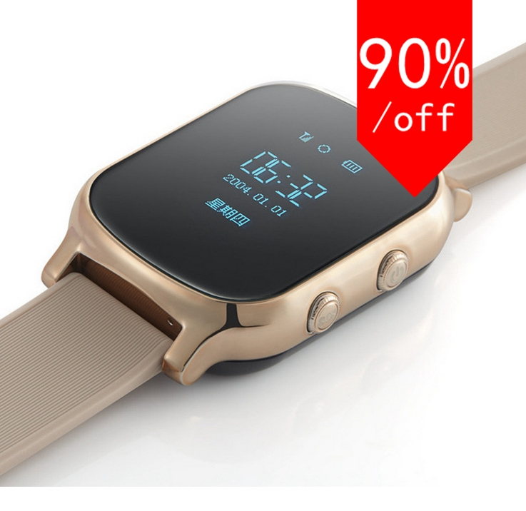 GPS Smart font b Watch b font with OLED touch screen for Kids Children GPS Bracelet