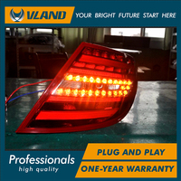 Hottest Selling 2011 2013 W204 C200 LED Taillight W204 Rearlight Best Quality With Red Color