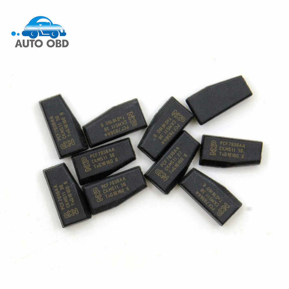 Best quality PCF7936AS Original 10pcs/lot PCF7936AS PCF7936 PCF 7936 New Original ID46 Chip Transponder Blank Chip Free Shipping