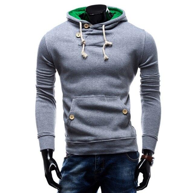 9c543f0c84f54 2016 nuevo diseño para hombre Causal hoodies