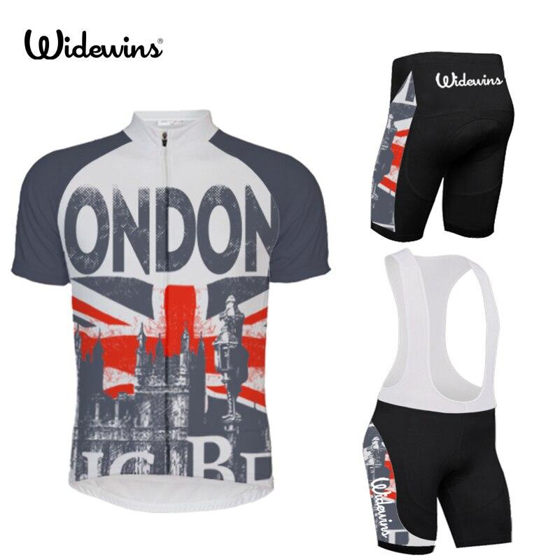 Spor ve Eğlence'ten Bisiklet Formaları'de Yaz Nefes Bisiklet Giyim LONDRA Hızlı Kuru Yarış Bisiklet Jersey Ropa Ciclismo Dağ Bisikleti Bisiklet Jersey 5557 title=