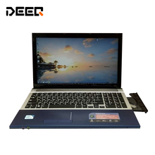15 6 inch gaming laptop notebook computer Wtih DVD 8GB DDR3 750GB HDD in tel Pentium
