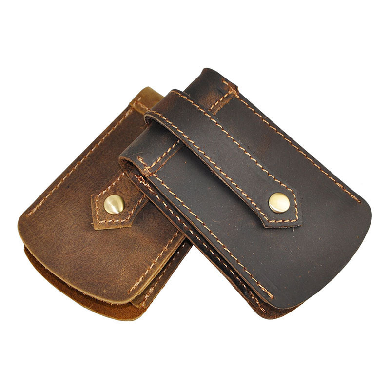 High Quality Fashion 100 Cowhide Crazy Horse Leather Key Bag Car Case Wallets Waist Uni In From Luggage Bags On Aliexpress
