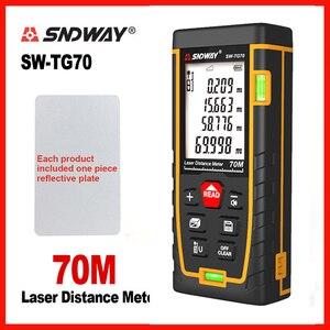 Image 3 - SNDWAY Laser entfernungsmesser Laser Palette Blase ebene Elektronische Band Herrscher Optische Instrumente Finder Laser distanzmessgerät