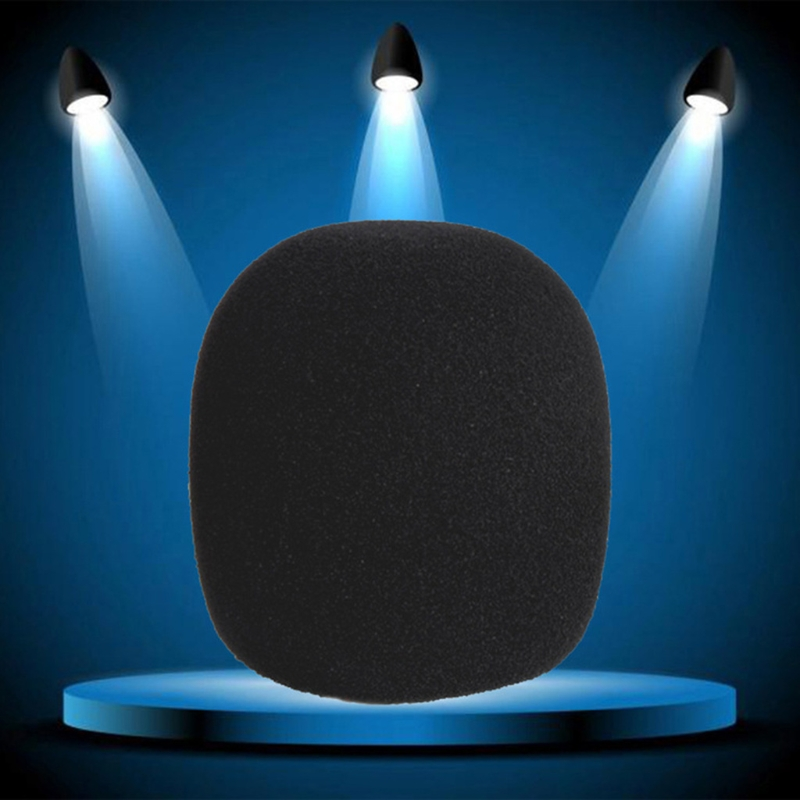 5X Round Ball Lavalier Microphone Foam Windscreen Sponge Windshields 6mm Opening in Microphones from Consumer Electronics