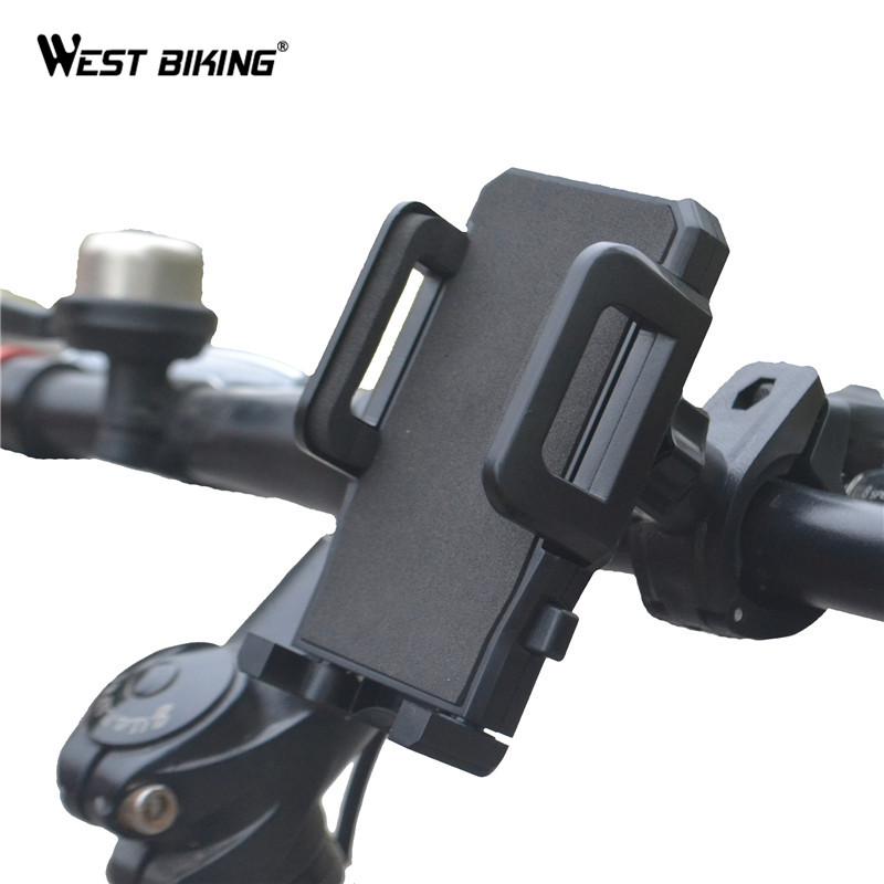 WEST BIKING Bike GPS Navigation Holder 360 Degree Rotation Phone Holder Stand Bracket Universal Cycling Bicycle Phone Holder