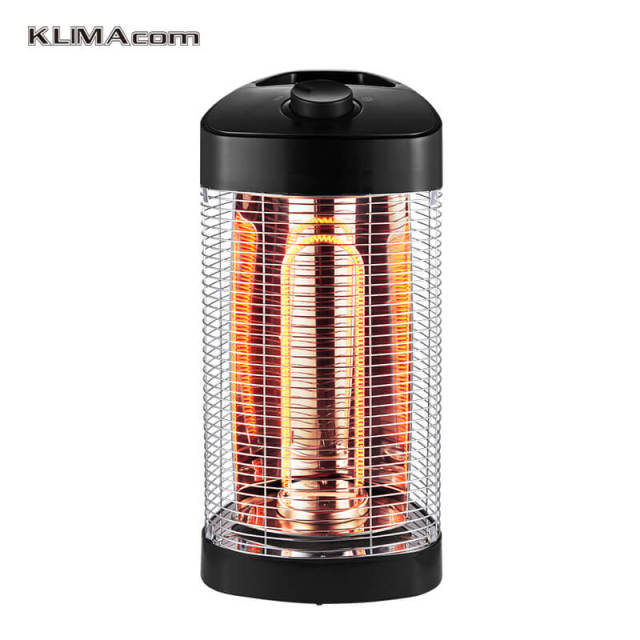 Indoor/Outdoor Best Table Top Patio Heater Carbon Fiber Electric Heaters  Infared Freestanding OSC Tower