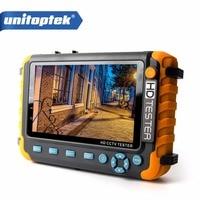 4 IN 1 CCTV Tester 5 Inch LCD 1080P HDMI VGA Input AHD TVI CVI Analog