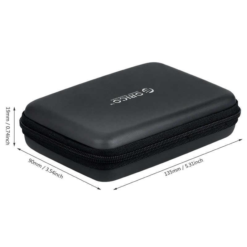 "ORICO PHB-25 2.5 ""2.5 inç koruma çantası harici taşınabilir HDD kutusu mavi/siyah/pembe"
