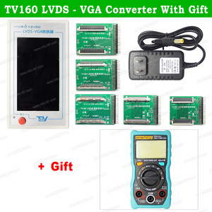 Image 4 - TV160 6th 7th Generation LVDS Turn VGA Converter With Display LCD/LED TV Motherboard Tester Mainboard Tool +  Multimeter/Scraper