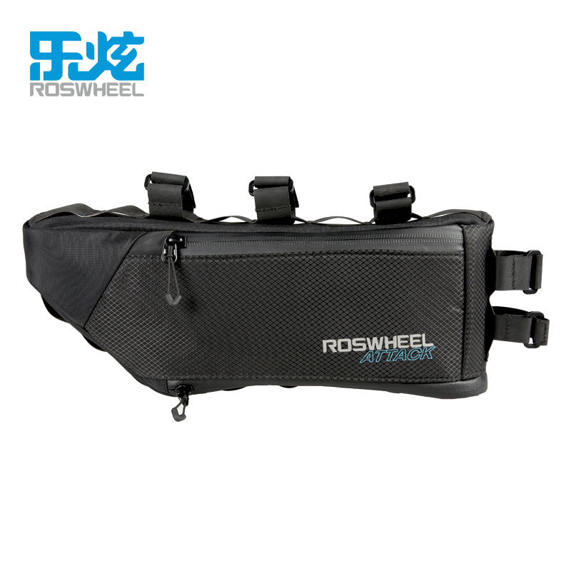 539b5a966d2 ROSWHEEL Waterproof Bike Bicycle Bag Triangle Storage Front Frame Tube Bag  Cycling Firmly install Bike Accessories ATTACK SERIES