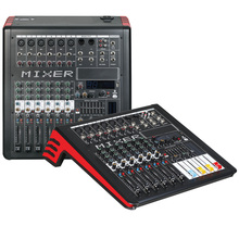 Mixing console recorder 48 V phantom power monitor AUX effect path 12-20 channel audio mixer USB 99 DSP effects TGi