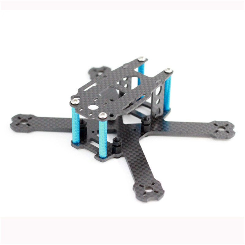 A-max Cube135H 135mm Wheelbase 2.5mm Arm Carbon Fiber FPV Racing Frame Kit 31g RC Racer Drone Quadcopter Helicopter DIY Toy Accs rc across racer kit support kk mk mwc diy drone fpv f450 quadcopter multicopter frame with red white black frame arm mini quad