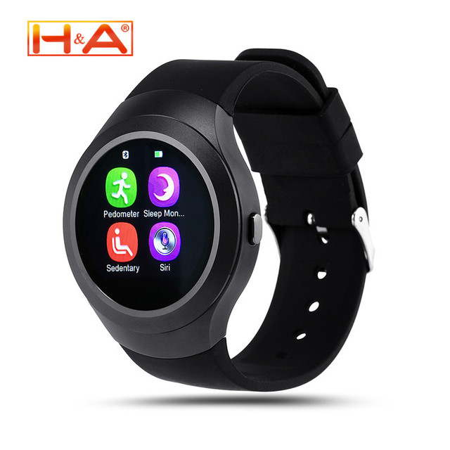 Bluetooth Watch L6S Smart Watch For Android Samsung Apple HTC Huawei Phone SmartWatch Support Sync Call Message