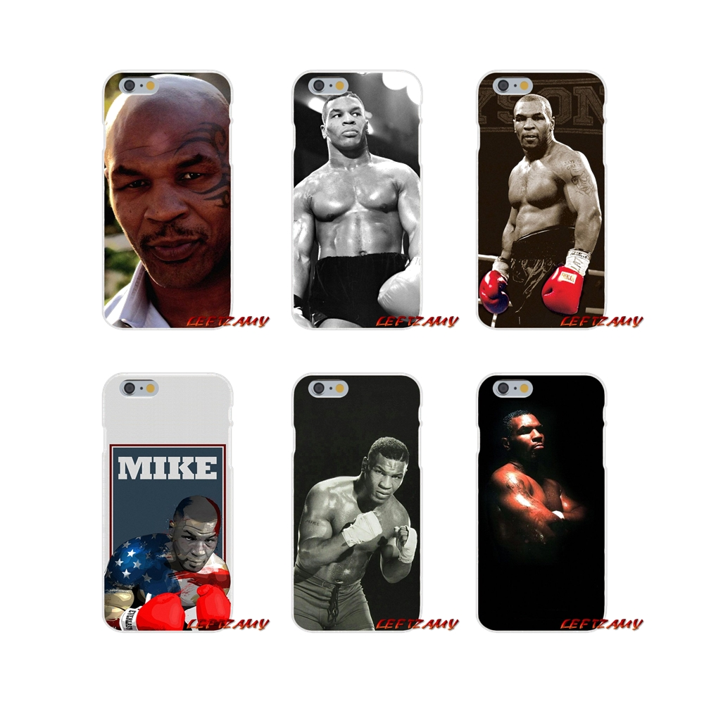 Accessories Phone Shell Covers For iPhone X XR XS MAX 4 4S 5 5S 5C SE 6 6S 7 8 Plus boxing king Mike Tyson punch muñeco buffon