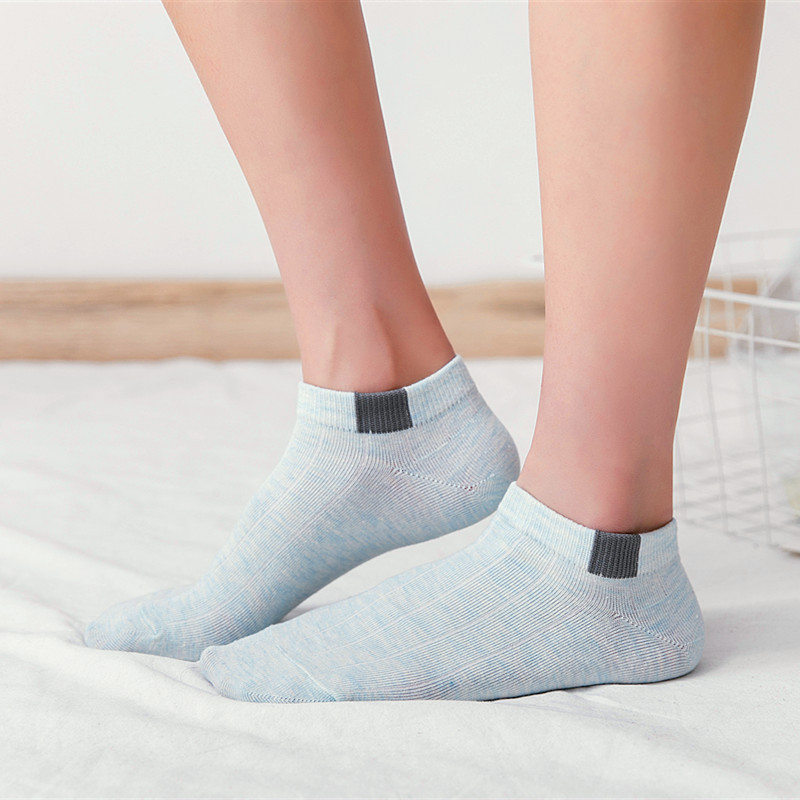 Hot Seller New Candy Color Invisible Non-slip Low Cut Sock Women Casual Cotton Breathable Ankle Boat Socks Elastic Short Hosiery