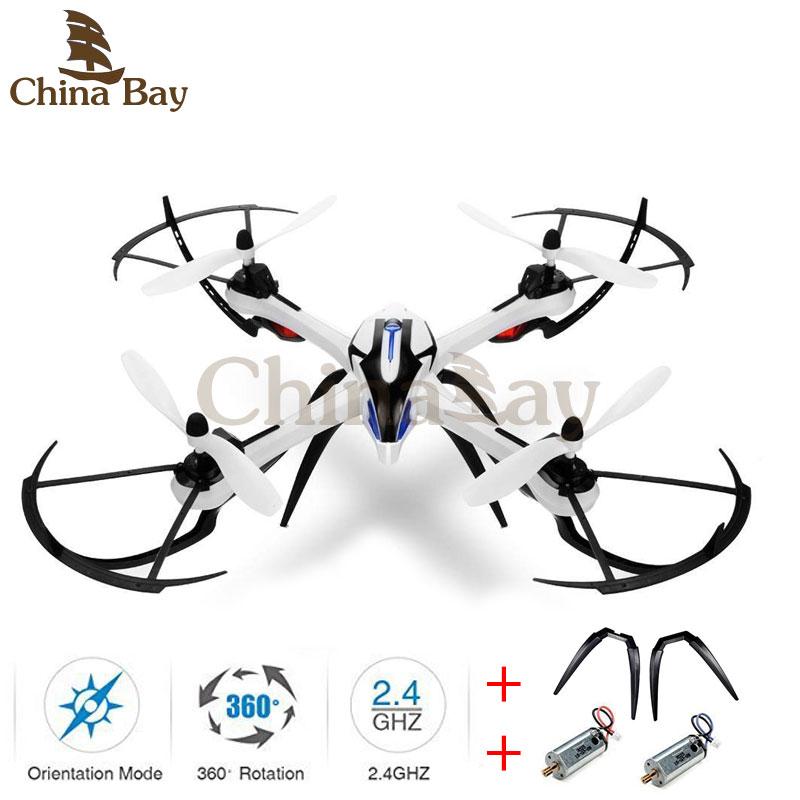 Drone YiZhan Tarantula X6 RC Quadcopter 6-Axis 2.4GHz Helicopter Without Camera RTF With 2 Landing Gears and Motors as Gift 2015 new jxd391 2 4g 4ch rc helicopter 6 axis gyro rc quadcopter with camera and flashing led light big drone as festival gift