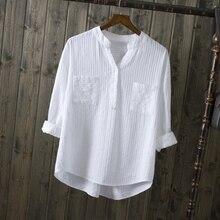 рубашки белые v-образным элегантные