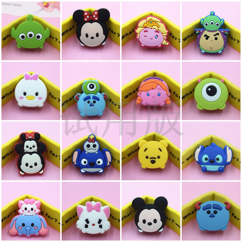 10pcs Cartoon USB Charger <font><b>Cable</b></font> <font><b>Organizer</b></font> <font><b>Cable</b></font> Protector For iPhone 6 7 8 iPad Headphone <font><b>cable</b></font> saver Protection <font><b>Cable</b></font> winder image