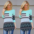 Women Casual Tops New Shirt Loose Fashion Long Sleeve Cotton Blouse