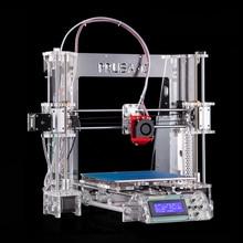 2016 Обновлен Качество Боуден дизайн Высокая Точность 3D принтер Reprap Prusa i3 DIY kit P802Y автоматического выравнивания