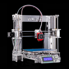 2016 Upgraded Quality Bowden design High Precision Reprap 3D printer Prusa i3 DIY kit P802Y auto leveling