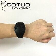 COTUO CS98 Sports Action camera accessories Wireless bluetooth remote control shutdown, video, photo