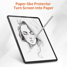 Brand New Paper-Like Anti Glare Matte PET Screen Protector for iPad 9.7 iPad Pro 10.5 inch Paper Texture Screen Protective Film s what protective anti scratch pet clear screen guard film for ipad air