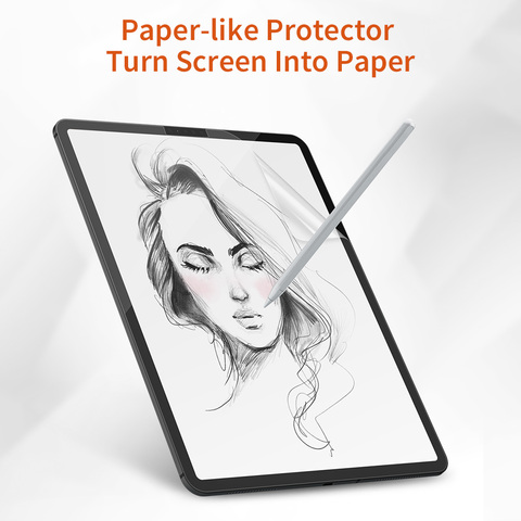 Brand New Paper-Like Anti Glare Matte PET Screen Protector for iPad 9.7 iPad Pro 10.5 inch Paper Texture Screen Protective Film Pakistan