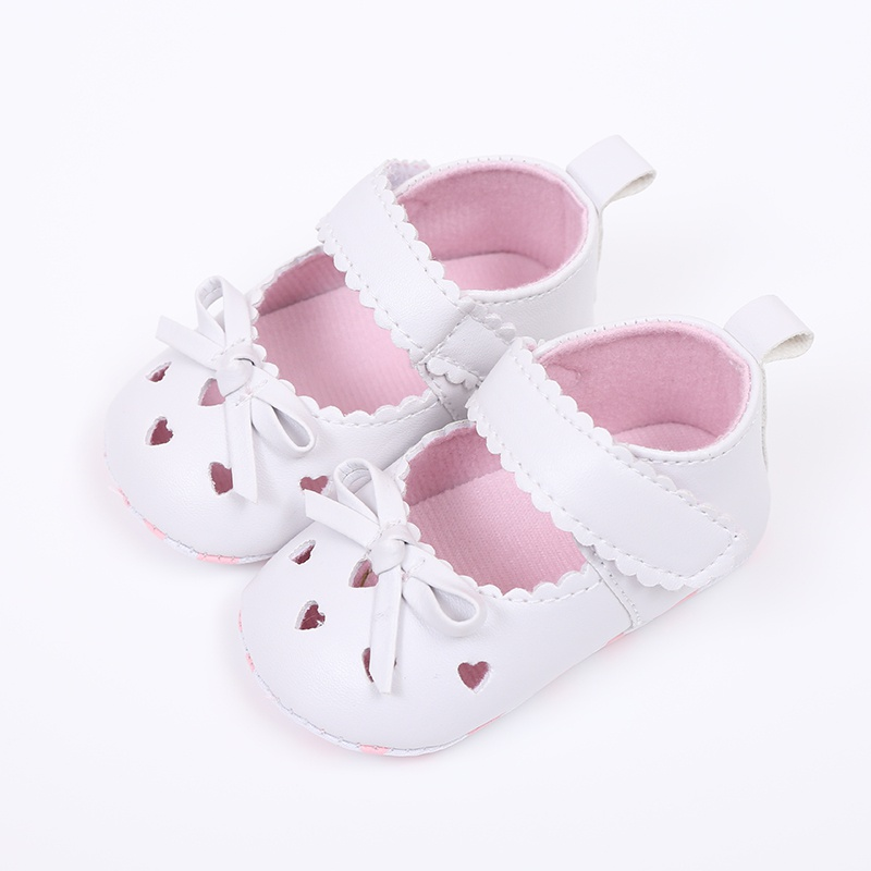 Fashion Baby Girl Shoes Handmade Soft Bottom Baby Shoes Moccasin Newborn PU leather First Walkers 0-18M
