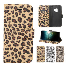 Wallet Flip Cover Leather Case For Samsung Galaxy S9 Plus Note 9 Cases For Samsung Note 8 S5 S6 S7 Edge S8 S8 Plus Phone Cases