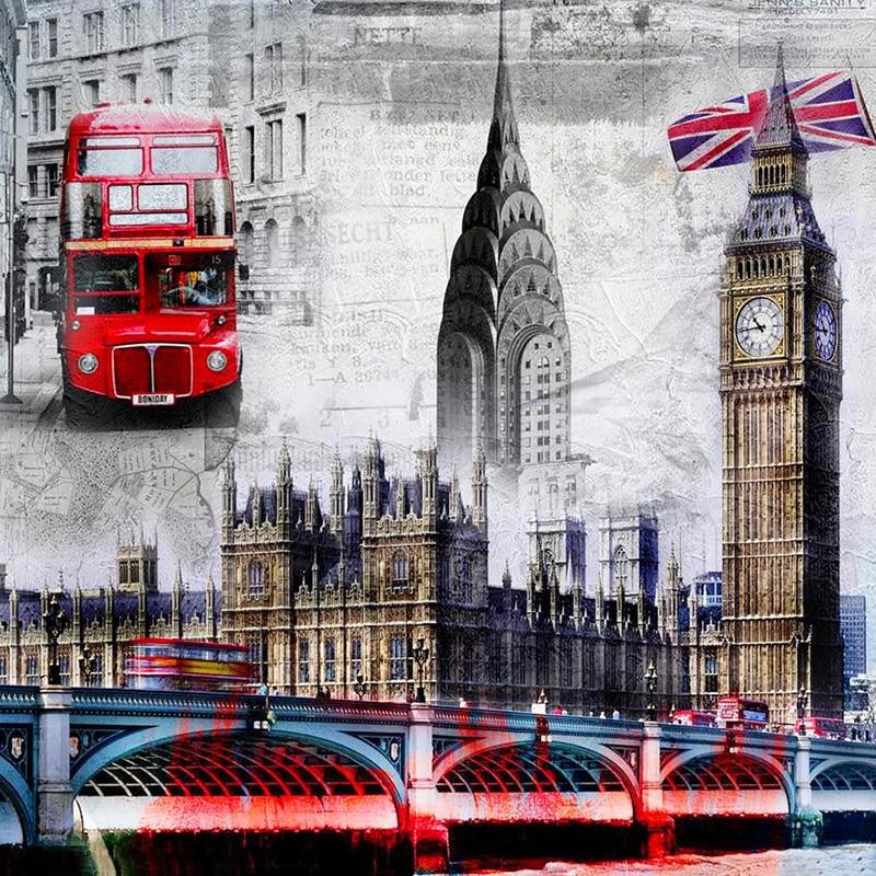 Вышивка пейзажи великобритании
