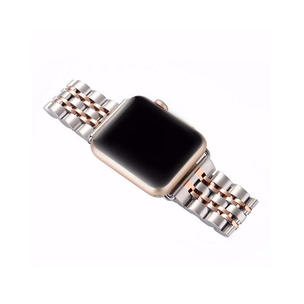 Luxury metal Stainless Steel strap for Apple Watch 4 band 44mm 40mm iwatch band 42mm correa 38 mm bracelet wrist watchband 5 3 2
