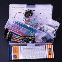 Upgrade Electronics Fun Kit Power Supply Module Jumper Wire Precision Potentiometer 830 Tie Points Breadboard