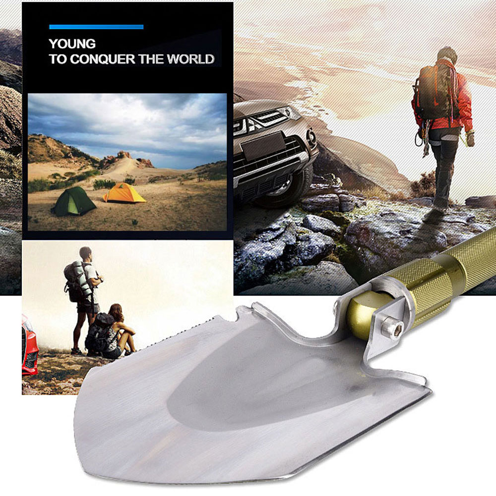 High quality carbon steel material Professional Military Tactical Multifunction Shovel Outdoor Camping Spade Tool Equipment spring steel with iron handle shovel digging spade flower blooms farm garden tools flower shovel shovel digging up tree