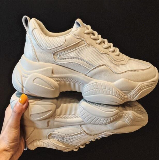 Pantshoes Comfy Breathable Mesh Trainers Chunky Heels 5cm Womens Platform Sneakers Women Shoes Casual Female ShoesPantshoes Comfy Breathable Mesh Trainers Chunky Heels 5cm Womens Platform Sneakers Women Shoes Casual Female Shoes