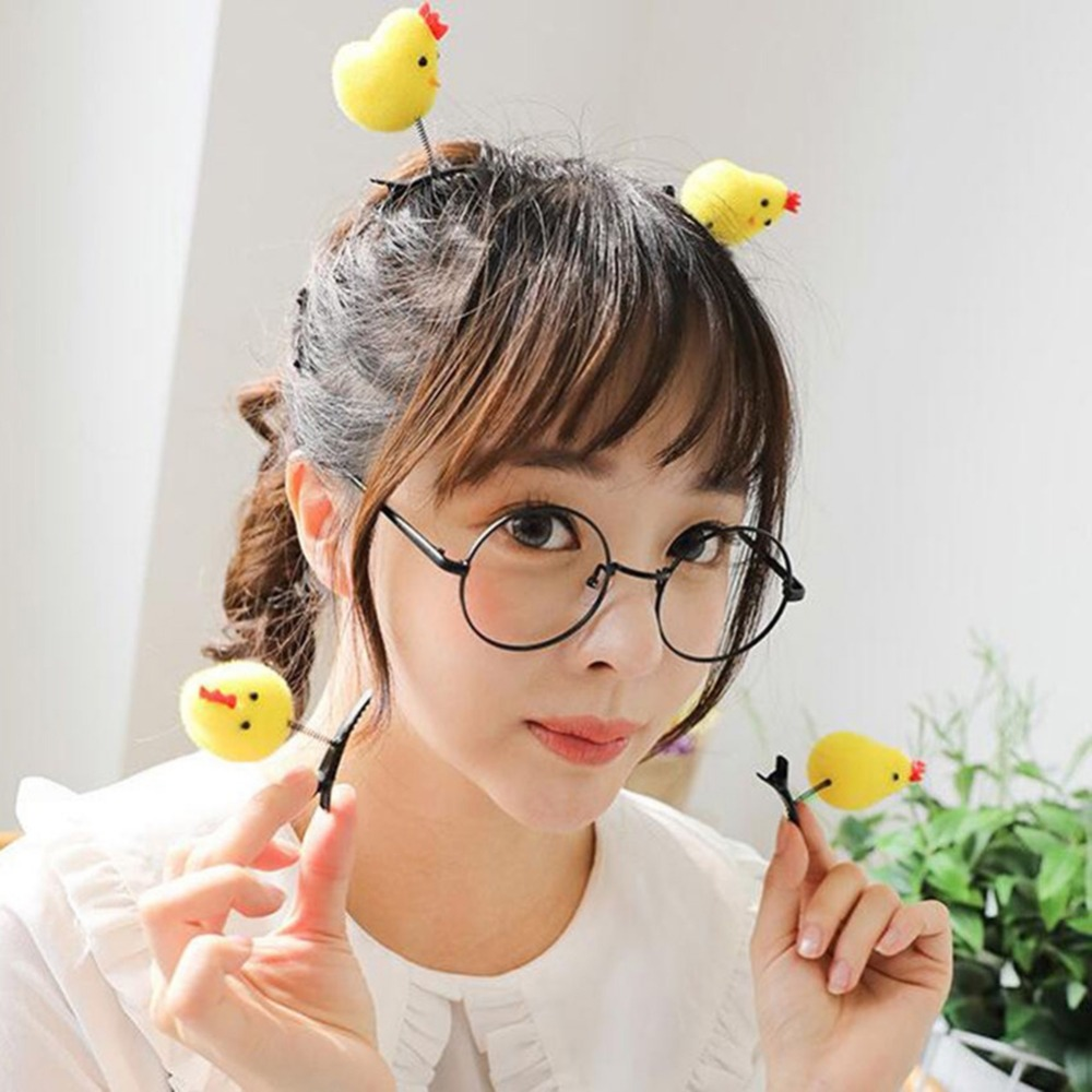 Headwear Hairpin Tiara-De-Noiva Bride Girl Kids Barrette Coroa Cute Chicken Funny Limited-Sale