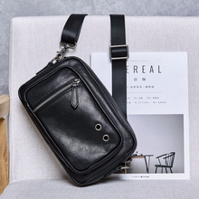 BAQI Brand Men Handbags Genuine Cow Leather 2019 Fashion Casual Business Mens Shoulder Messenger Bag Crossbody male