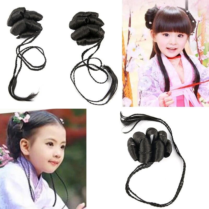 Bonito acessórios de cabelo para meninas princess party cosplay chinesa antiga dinastia cosplay para meninas do dia das bruxas cosplay