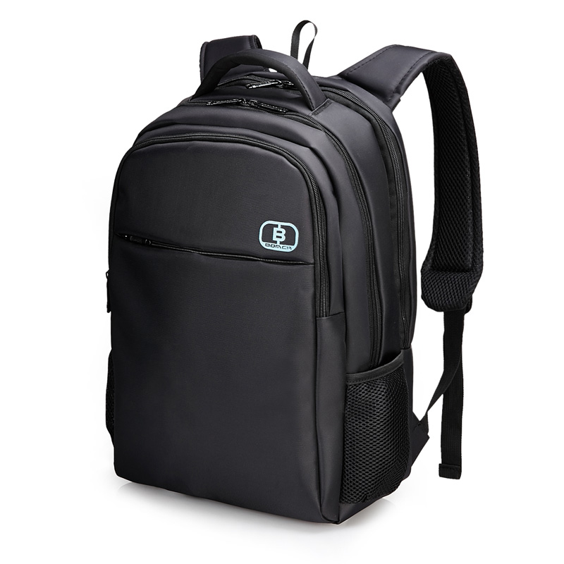 BOMCK shoulders back computer bag 15.6 inch bag men and women business notebook computer bag waterproof shock big capacity