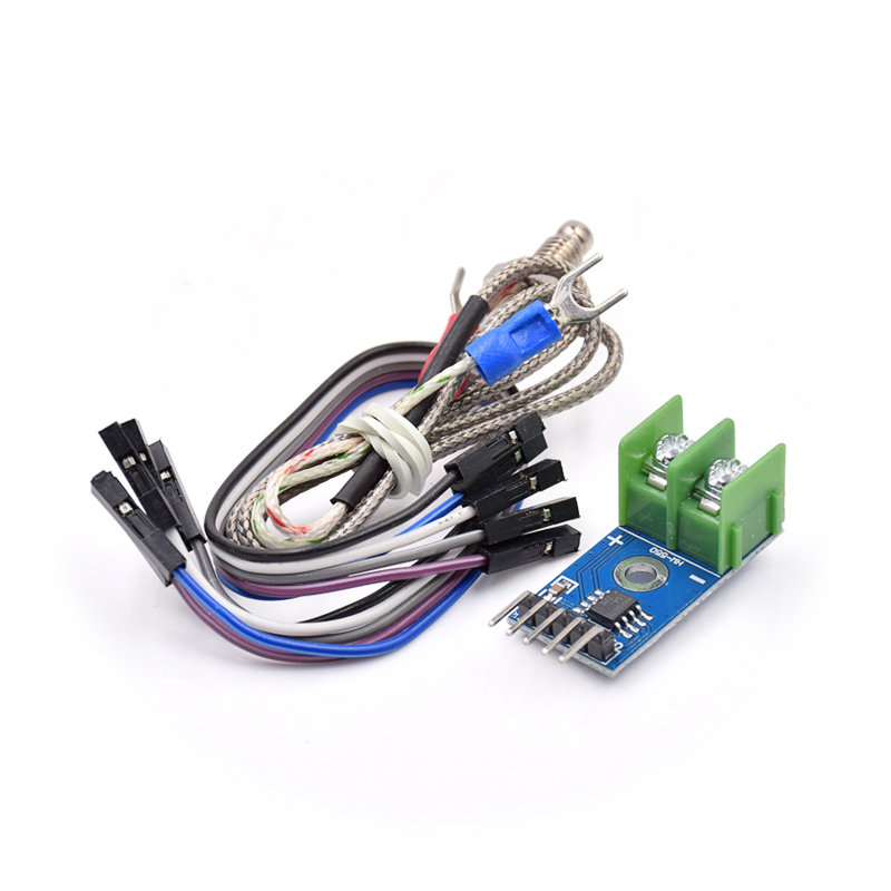 10PCS MAX6675 Module + K Type Thermocouple Thermocouple Sensor For Arduino