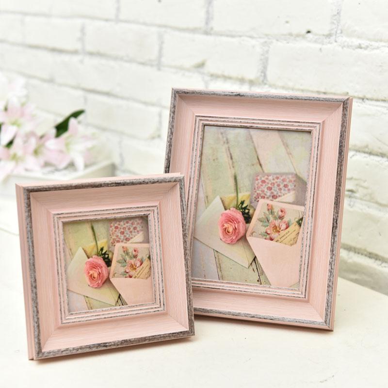 Jetzt Angebot Verkauf Moderne Rosa Holz Foto Rahmen Hochzeit Baby ...