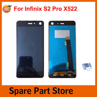 Angcoucoux For Smart Phone Infinix S2 Pro X522 Full LCD Display Touch Screen Digitizer Assembly Replacement Parts+Free tools