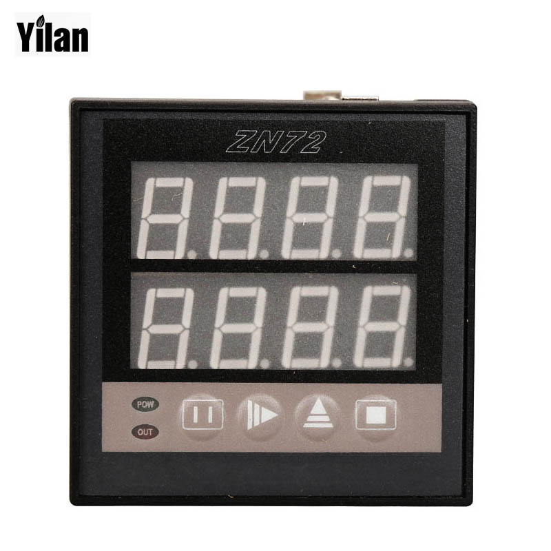 ZN72 1-9999 Panel Mount Count Up Down Digital Counter Relay AC 220V