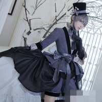 Black Butler Ciel Phantomhive Gemini Dress cosplay costume High Quality New Cloth Free Shipping