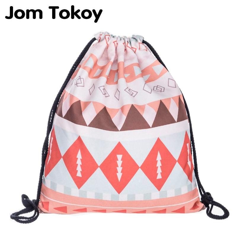 Emoji week Women mochila escolar party drawstring bag man Gym bags sac a dos Travel backpack  brand 3D printing Trend line