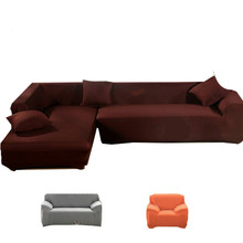 covers on the sofa armchairs couch cover fabric soild slipcover elastic Corner sofa cover l shaped